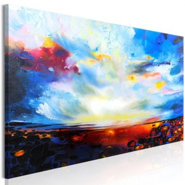 Tableau Colourful Sky (1 Part) Narrow  | cosy-home-design.fr