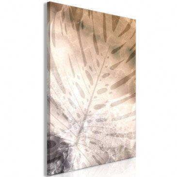 Tableau Amber Monstera (1 Part) Vertical  | cosy-home-design.fr