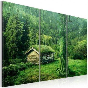 Tableau écosystème forestier  | cosy-home-design.fr