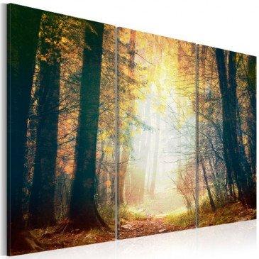 Tableau Beauté de l'automne - triptyque  | cosy-home-design.fr
