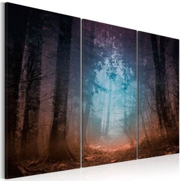 Tableau Edge of the forest - triptych  | cosy-home-design.fr