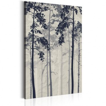 Tableau Forest In Fog  | cosy-home-design.fr