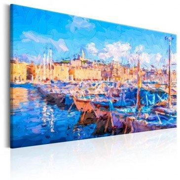 Tableau Blue Port  | cosy-home-design.fr