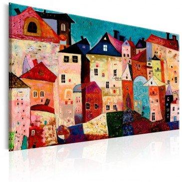 Tableau Artistic City  | cosy-home-design.fr