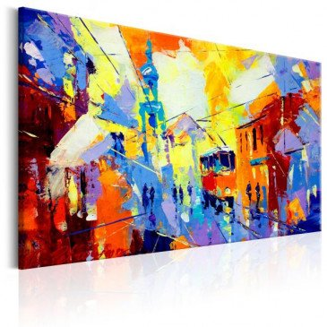 Tableau Colours of the City  | cosy-home-design.fr