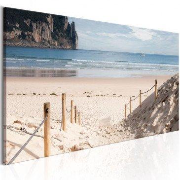 Tableau Beach path  | cosy-home-design.fr