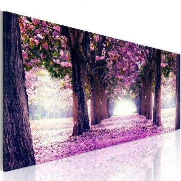 Tableau Automne calme en violet  | cosy-home-design.fr