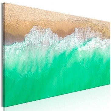 Tableau Coast (1 Part) Narrow Green  | cosy-home-design.fr