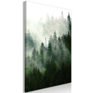 Tableau Coniferous Forest (1 Part) Vertical  | cosy-home-design.fr