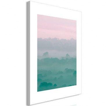 Tableau Foggy Dawn (1 Part) Vertical  | cosy-home-design.fr