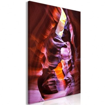 Tableau Antelope Canyon (1 Part) Vertical  | cosy-home-design.fr