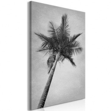Tableau High Palm Tree (1 Part) Vertical  | cosy-home-design.fr