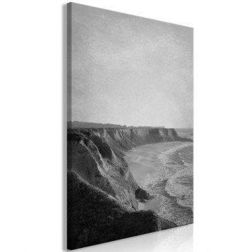 Tableau Cliff (1 Part) Vertical  | cosy-home-design.fr