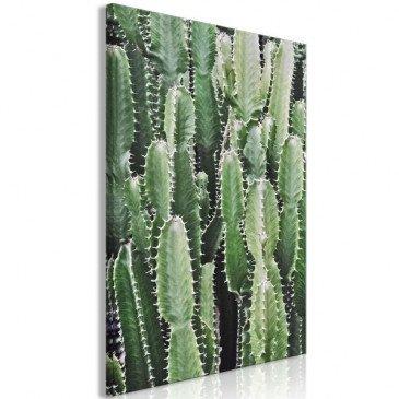 Tableau Cactus Garden (1 Part) Vertical  | cosy-home-design.fr