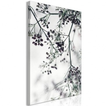Tableau Blooming Twigs (1 Part) Vertical  | cosy-home-design.fr