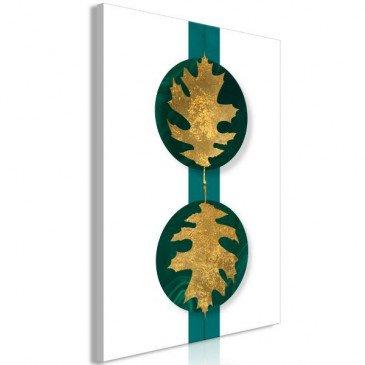 Tableau Green Wealth (1 Part) Vertical  | cosy-home-design.fr