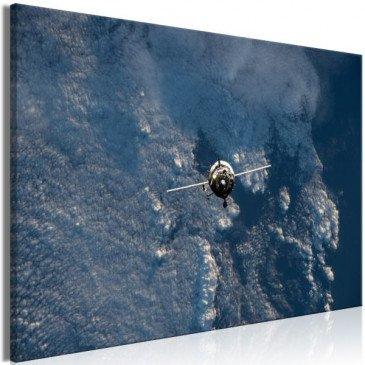 Tableau Blue Planet (1 Part) Vertical  | cosy-home-design.fr