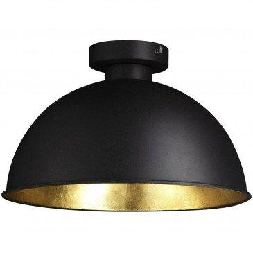 Suspension Métal Noir et Doré Veralia  | cosy-home-design.fr