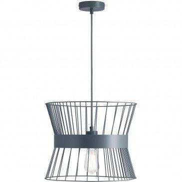 Suspension Grise Cage  | cosy-home-design.fr