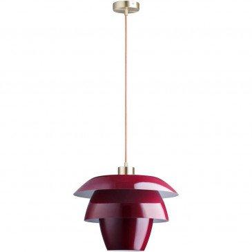Suspension Rouge Fonteyn  | cosy-home-design.fr