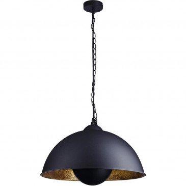 Suspension Noir et Doré Folio  | cosy-home-design.fr
