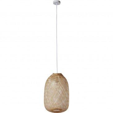 Suspension Bambou Naturel Bari  | cosy-home-design.fr