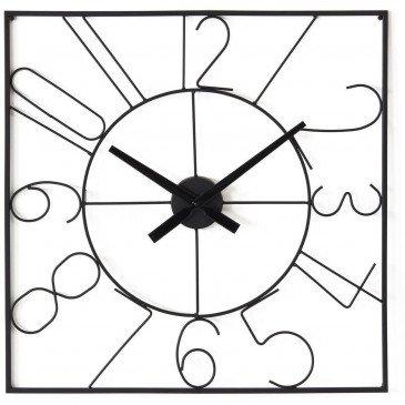 Horloge Métal Noir Alban  | cosy-home-design.fr