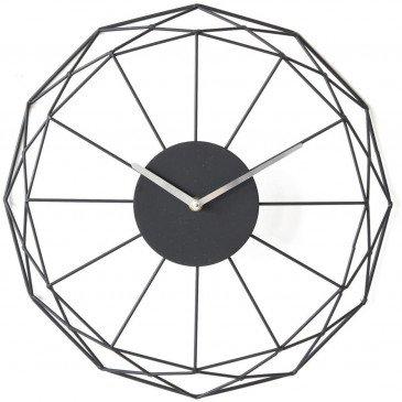 Horloge Métal Noir Ben  | cosy-home-design.fr