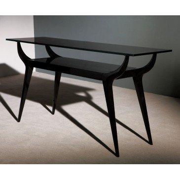 Console verre et bois laqué Kerry  | www.cosy-home-design.fr