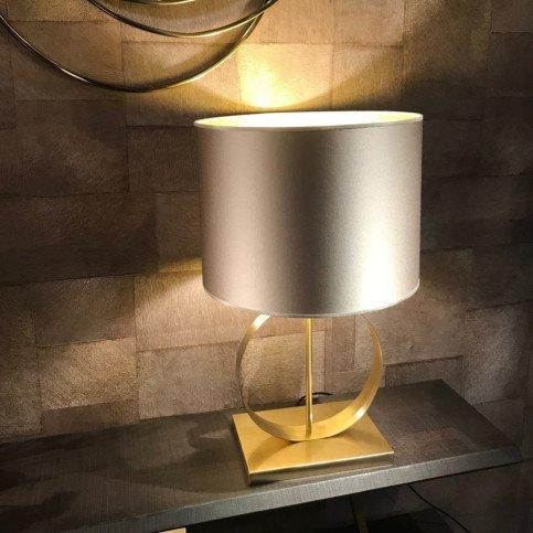 Lampe bronze et laiton brossé Deauville  | www.cosy-home-design.fr