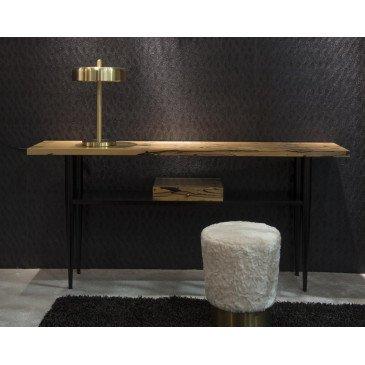 Console ébène royale et hêtre vernis Gustave  | www.cosy-home-design.fr