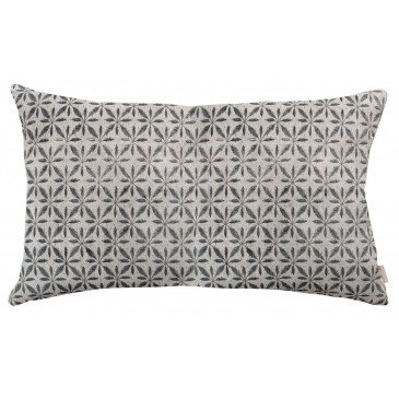 Housse de Coussin Anime Jade Flower Craie 50 | www.cosy-home-design.fr
