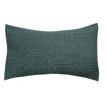 Housse de Coussin Stonewashed Tana Prusse 65 | www.cosy-home-design.fr