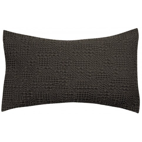 Housse de Coussin Stonewashed Tana Carbone 65 | www.cosy-home-design.fr