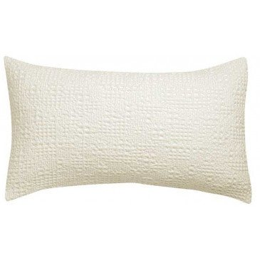 Housse de Coussin Stonewashed Tana Craie 65 | www.cosy-home-design.fr