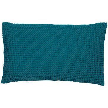 Housse de Coussin Stonewashed Maia Topaze 50 | www.cosy-home-design.fr