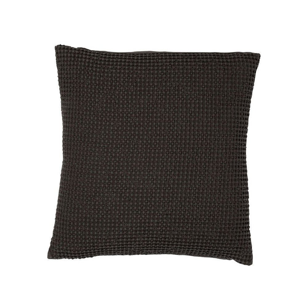 Housse de Coussin Stonewashed Maia Carbone 45 | www.cosy-home-design.fr