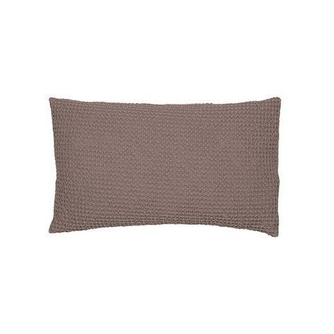 Housse De Coussin Stonewashed Maia Taupe 50 | www.cosy-home-design.fr