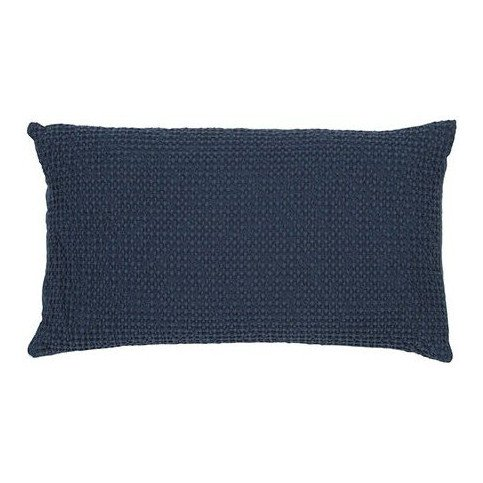 Housse de Coussin Stonewashed Maia Navy 50 | www.cosy-home-design.fr