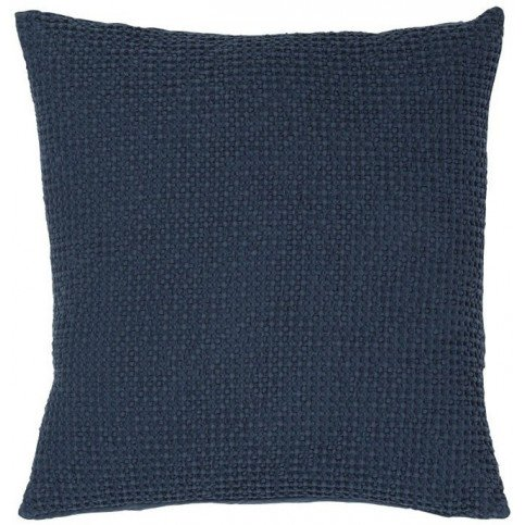 Housse de Coussin Stonewashed Maia Navy 45 | www.cosy-home-design.fr