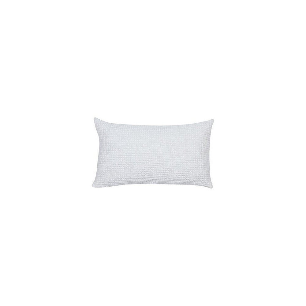 Housse de Coussin Stonewashed Maia Craie 50 | www.cosy-home-design.fr