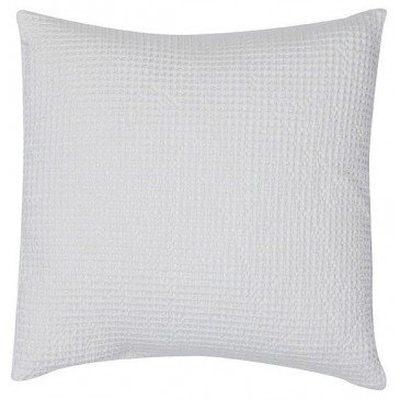 Housse de Coussin Stonewashed Maia Craie 45 | www.cosy-home-design.fr