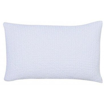 Housse de Coussin Stonewashed Maia Blanc 50 | www.cosy-home-design.fr