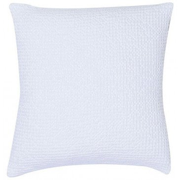 Housse de Coussin Stonewashed Maia Blanc 45 | www.cosy-home-design.fr