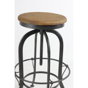 Tabouret de bar Industriel | www.cosy-home-design.fr