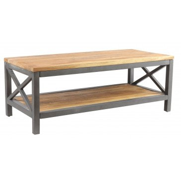 Table basse industrielle Bedford | www.cosy-home-design.fr