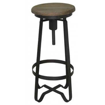 Tabouret de bar Industrilel | www.cosy-home-design.fr