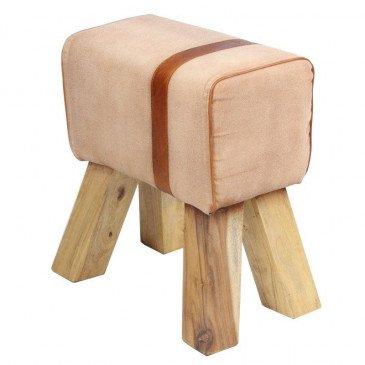 Tabouret cheval d'arçon Amy  | www.cosy-home-design.fr
