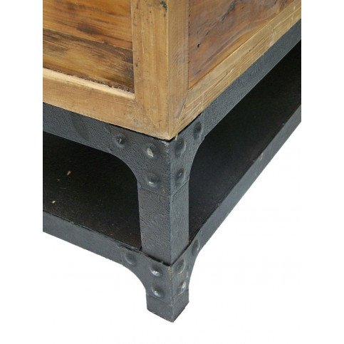 Meuble TV industriel 4 tiroirs Sullivan | www.cosy-home-design.fr
