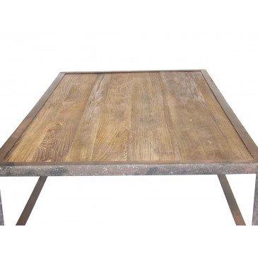 Table basse industrielle San Antonio  | www.cosy-home-design.fr
